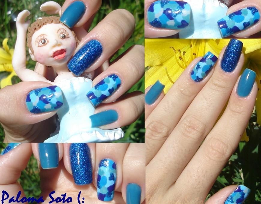 Azul, azul, azul e.... Azul!